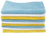 AmazonBasics Microfiber Cleaning Cloth (Pack of 24)