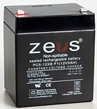 Replacement for WKA12-5F – 12 volt 5 ah battery
