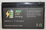 ML8-12 – 12V 8AH Replacement for GT12080-HG FiOS Systems Battery