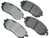 Akebono ACT929 ProACT Ultra-Premium Ceramic Brake Pad Set