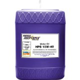 Royal Purple 35140 HPS 10W-40 High Performance Street Synthetic Motor Oil with Synerlec – 5 Gallon Pail Reviews