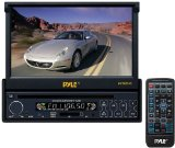 Pyle PLTS73FX 7-Inch Single DIN In-Dash Motorized Touch Screen TFT/LCD Monitor with DVD/CD/MP3/MP4/USB/SD/AM-FM Player Reviews
