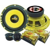 Pyle PLG6C 6.5-Inch 400-Watt 2-Way Custom Component System Reviews