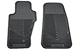 Highland 4603600 All-Weather Black Front Seat Floor Mat