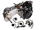 TMS® Short Case 150cc Gy6 Scooter Atv Go-kart Engine Motor 150 Cvt Auto Carb Complete