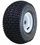 Marathon 13×6.50-6″ Pneumatic (Air Filled) Tire on Wheel, 3″ Hub, 3/4″ Bearings