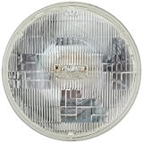SYLVANIA H6024 SilverStar High Performance Halogen Sealed Beam Headlight (7″ Round) PAR56, (Contains 1 Bulb)