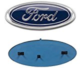 2005-2014 Ford F150 Dark Blue Oval 9″ X 3.5″ Front Grille Replacement Badge Emblem Medallion Name Plate