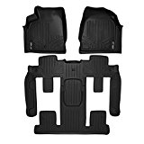 MAXFLOORMAT Floor Mats for Traverse / Enclave / Acadia / Outlook Bucket Seat Complete Set (Black) Reviews