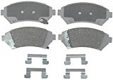 ACDelco 14D818CH Advantage Ceramic Front Disc Brake Pad Set with Hardware