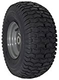 MARASTAR 15×6.00-6″ Front Tire Assembly Replacement for Craftsman Riding Mowers (21446)