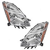 Driver and Passenger Halogen Headlights Headlamps Replacement for Toyota 81170-47160 81130-47160