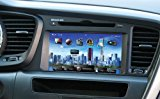 Farenheit F-86OPTM OEM Upgrade Multimedia Navigation System with 8-Inch TFT-LCD Touchscreen Monitor and Bluetooth for 2011 and Newer Kia Optima