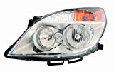 Depo 335-1149L-ASN Saturn Aura Driver Side Composite Headlamp Assembly with Bulb and Socket