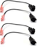 (2) Pair of Metra 72-5600 Speaker Wire Adapters for Select Ford Vehicles – 4 Total Adapters