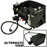 APDTY 050112 Air Suspension Compressor Assembly w/Dryer & Steel Mount Housing For 2007-2013 Escalade, Avalanche, Suburban, Yukon, Tahoe (Replaces GM 15254590)
