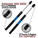 2pcs Rear Trunk Gas Lift Supports Shocks Liftgate Hatch Struts for 2005-2008 Chrysler 300 300c