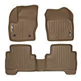 MAXFLOORMAT Floor Mats for Ford Escape (2013-2017) / C-Max (2013-2017) Complete Set (Tan)