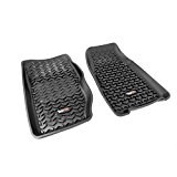 Rugged Ridge All-Terrain 12920.25 Black Front Row Floor Liner For Select Jeep Cherokee Models