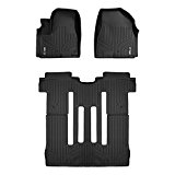 MAXFLOORMAT Floor Mats for Kia Sedona 8 Passenger Only (2015-2017) Complete Set (Black) Reviews