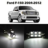 Partsam 10 White Interior LED Light Package Kit for Ford F-150 2004 2005 2006 2007 2008 2009 2010 2011 2012 with Tool Kit ¡ Reviews