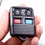 Remote Key Replacement Case Shell 4 Button Pad for Ford [Electronics] Reviews