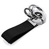 Troika Click Black Leather Keyholder (KR802LE)