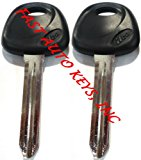 2 NEW Replacement Non-transponder Uncut Blade KEY Blank FIT KIA – Made in USA