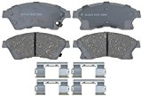 ACDelco 14D1522CH Advantage Ceramic Front Disc Brake Pad Set with Hardware