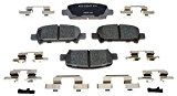 ACDelco 14D770CH Advantage Ceramic Rear Disc Brake Pad Set Reviews